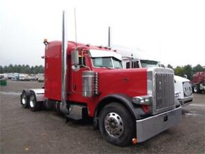 2005 PETERBILT 379L, CAT C15 ENGINE, 3 WAY LOCKERS, RUNS GOOD.