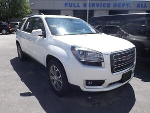2014 GMC Acadia SLT AWD LEATHER SUNROOF DVD