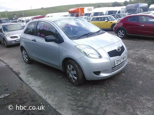 TOYOTA YARIS 2008 BREAKING FOR SPARES TEL 07814971951 HAVE FEW IN STOCK