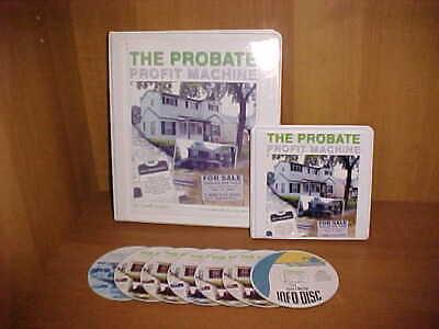 Scott Rister Probate Profit Machine Real Estate CD Course