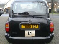 LTI TX1 Taxi/Black Cab with 2.7 litre Nissan Engine £495ono