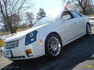 2007 Cadillac CTS GORGEOUS PEARL WHITE AMAZING $88payments!