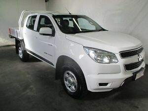 2013 Holden Colorado RG LX (4x4) Summit White 5 Speed Manual Crewcab Invermay Launceston Area Preview