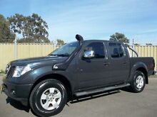 2008 Nissan Navara D40 ST-X (4x4) Grey 6 Speed Manual Dual Cab Pick-up Blacktown Blacktown Area Preview