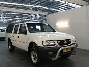 2002 Holden Rodeo TFR9 MY02 LX White 4 Speed Automatic Crew Cab P/Up Beresfield Newcastle Area Preview