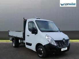 2016 Renault Master ML35TWdCi 125 Business Low Roof Tipper Diesel white Manual