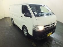 2010 Toyota Hiace KDH201R MY11 Upgrade LWB White 5 Speed Manual Van Clemton Park Canterbury Area Preview