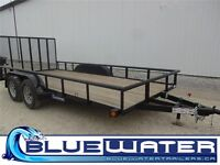2015 Load Trail Tandem Axle Utility 83 x 16!! WITH RADIAL TIRES!