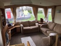 Static Caravan for sale on beautiful 5* park in the stunning Yorkshire dales.