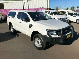 2015 Ford Ranger PX XL 3.2 (4x4) White 6 Speed Manual Super Cab Utility Dubbo Dubbo Area Preview