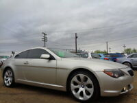 View Details 2005 Bmw 645ci Sport Coupe 4 4l V8 Leather Sunroof Only 112k Edmonton Area Preview