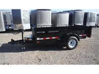 Dump Trailer 5 ft X 10 ft Single Axle Dump Trailer 5200# GVWR