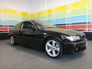 2003 BMW 330CI E46 Black 5 Speed Auto Steptronic Coupe Wangara Wanneroo Area Preview