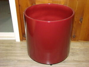 Large Ceramic cylinder planter