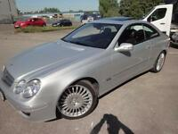 LHD Mercedes CLK320 CDI Advantgarde Automatic UK REGISTERED
