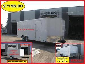 LIQUIDATION CAR HAULER 8.5 X 20 V NOSE POUR TRANSPORT D AUTO