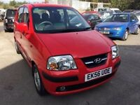 Hyundai Amica 2006, starts and drives very well, 1 years MOT (runs out April 2018) very low mileage