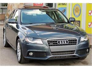 2010 Audi A4 2.0T / leather / sunroof / AWD
