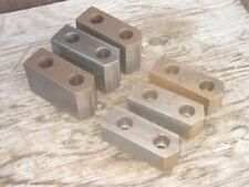 "3-jaw chuck 2 sets machinable Pratt Bernerd lathe chuck jaws for 10/"" D"