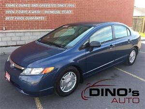 2008 Honda Civic Sdn DX-G | AUTO / CHECK OUT THE MILEAGE!!