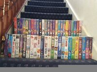 Various Original VHS tapes, 51 childrens & 15 suitable for Adult