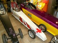 Junior Dragster Pear White w/ Canadian Flag (Black one is Sold)
