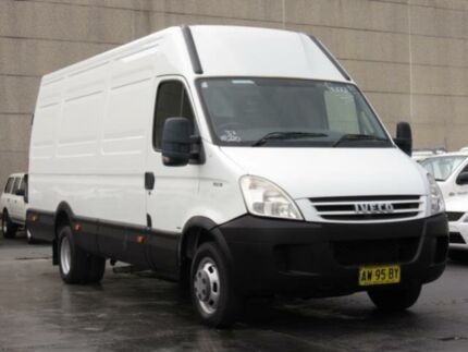 2008 Iveco Daily MY07 50C18 LWB/HI White Van 3.0l Condell Park Bankstown Area Preview