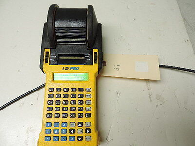 Brady I.d. Pro Id Wire Marker Printer Labeler Labeller No Battery Tested  1