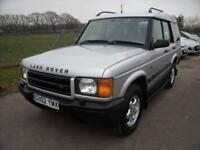 LAND ROVER DISCOVERY TD5 S Silver Manual Diesel, 2002