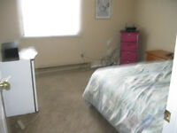 fartially furnished room for rent