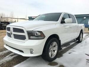 2013 Ram 1500 Sport 4x4 ~ Heated Leather Tow Package $215 B/W