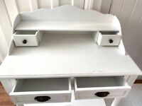 Shabby Chic Desk - white