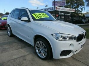 2014 BMW X5 F15 MY14 xDrive 25D White 8 Speed Automatic Wagon New Lambton Newcastle Area Preview