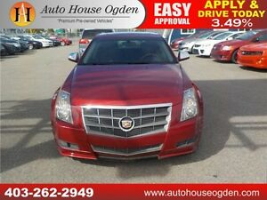 2010 CADILLAC CTS AWD LEATHER PANO ROOF