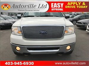 2008 Ford F-150 Lariat LEATHER, ROOF, NAVI, BACKUPCAM, SUPERCREW