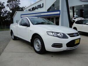 2013 Ford Falcon FG MkII Ute Super Cab White 6 Speed Automatic Utility Glendale Lake Macquarie Area Preview
