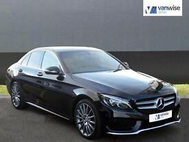 2014 Mercedes-Benz C Class C220 BLUETEC AMG LINE Diesel black Automatic