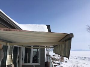 Awning - 8 feet by 12 feet crank out style