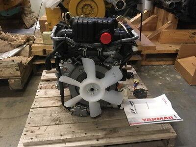 Yanmar 2v750-c Diesel Engine 0 Miles .vertical Shift. All Complete.