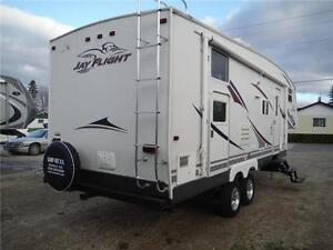 2007 Jayco Jay Flight 27.5BHS Ultra Lite 5th Wheel with Bunkbeds Stratford Kitchener Area image 3