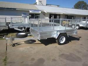 BRAND NEW 8X5 BOX TRAILER TILT GAL CAGE SPARE WHEEL Maryborough Fraser Coast Preview