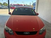 2013 Ford Falcon FG MkII XR6 Red 6 Speed Sports Automatic Sedan Midvale Mundaring Area Preview