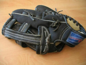 LEFTHANDERS BLACK LEATHER BASEBALL GLOVE (VGC)