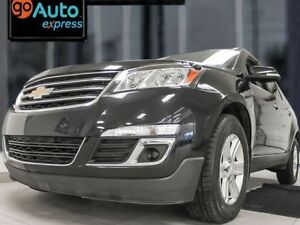 2013 Chevrolet Traverse 2LT AWD with heated power leather seats,