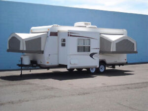 TRAILER FOR RENT*SLEEPS 8*COMES COMPLETE/CAN DELIVER