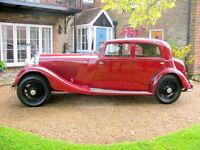 1935 Bentley 3.5 litre Park Ward