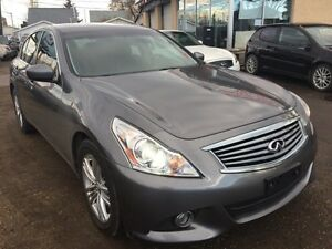 2012 Infiniti G37X Sedan Luxury- NO ACCIDENTS!! Apply Today!!