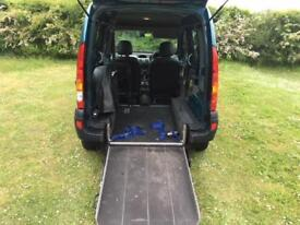 RENAULT KANGOO AUTOMATIC DISABLED VEHICLE WAV RAMP SHOWROOM CONDITION AIR CON