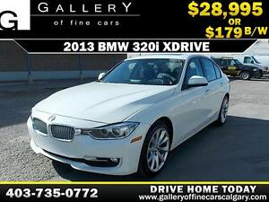2013 BMW 320i xDrive $179 bi-weekly APPLY NOW DRIVE NOW