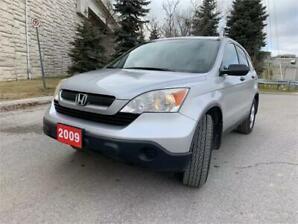 2009 Honda CR-V LX AWD No Accidents,Clean Interior and Exterior